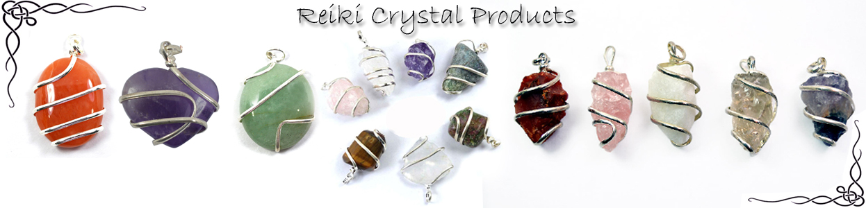 Mix Wire Wrapped Pendants