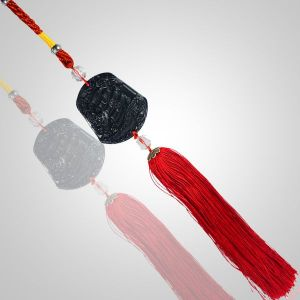 Car Decoration Hanging Accessories Fengshui Black Ship for Car Home