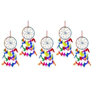 6 Inch Dream Catcher Wall Hanging for Positive Energy ( Combo 5 )