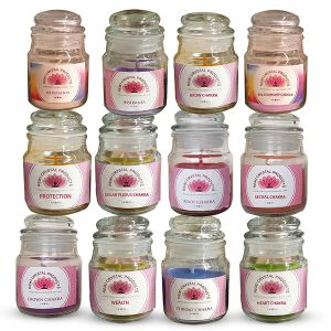 Energized Aroma Jar Candles by Reiki Grand Master for special purposes
