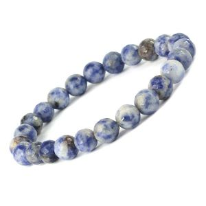 Sodalite 8 mm Faceted Bracelet