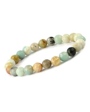 AA Amazonite 8 mm Faceted Bracelet
