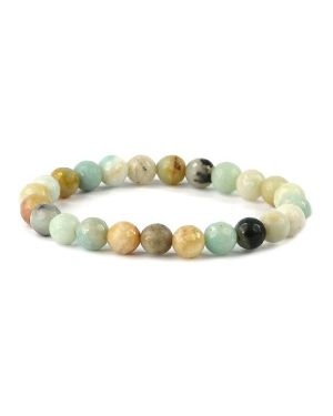 AAA Amazonite 8 mm Faceted Bracelet