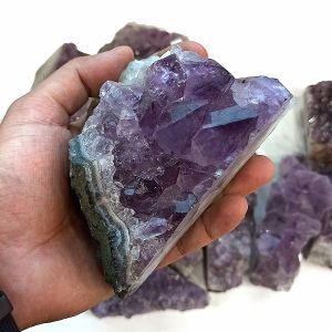 Natural Amethyst Cluster Stones (Weight : 600 Gram Approx)