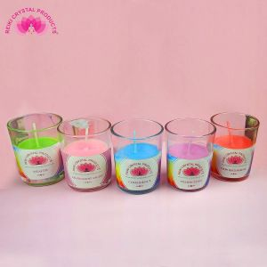 Energized Aroma Glass Candle