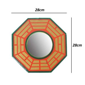 Pakwa / Convex / Bagua Mirror for Protection from Negative Energy