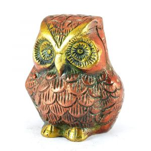 Brass Owl Symbol of Wisdom and Protection