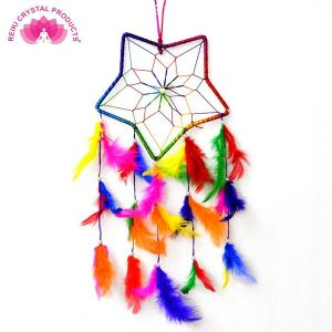 Star Shape Dream Catcher Wall Hanging for Positive Energy