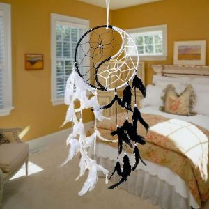 Yin Yang Dream Catcher Wall Hanging