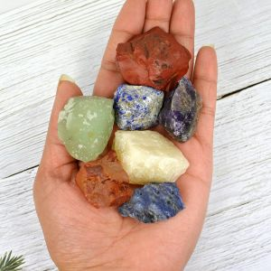 7 Chakra 6 mm Round Beads Mala & Necklace ( 108 Beads, 26 Inch  Approx)