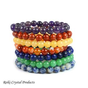 7 Chakra Bracelet Pack of Combo 7 pc