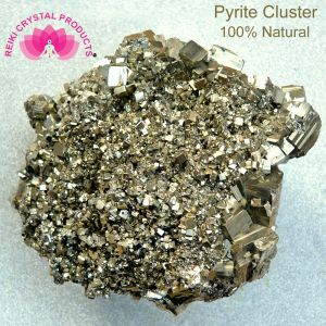 Natural Pyrite Cluster Rough Stones