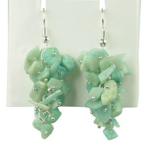 Amazonite 6 mm Round Beads Mala & Necklace