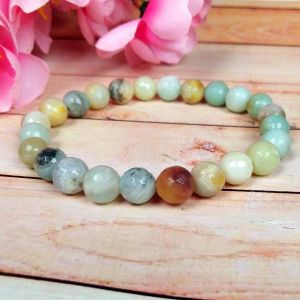Amazonite 8 mm Faceted Bracelet