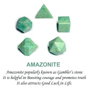 Amazonite Geometry 5 Pc Set