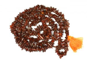 Amber Chip Mala / Necklace