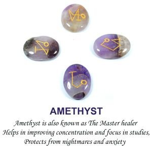 Amethyst Arch Angel Sets (4 pcs)