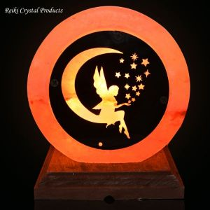 Himalayan Rock Salt Lamp Angel/Fairy Salt Lamp