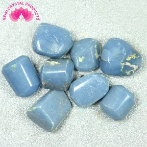 Angelite Tumble Stone 100 Grams