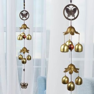 Fengshui Wind Chimes Home Positive Energy Windchimes Hanging 6 Bell