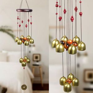 Fengshui Wind Chimes Home Positive Energy Windchimes Hanging 10 Bell
