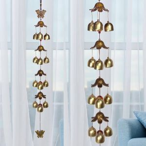 Fengshui Wind Chimes Home Positive Energy Windchimes Hanging 12 Bell