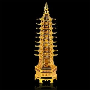 Vastu/Feng Shui Metal Education Tower
