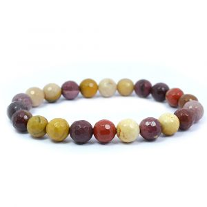Mukite Jasper 8 mm Faceded Bracelet