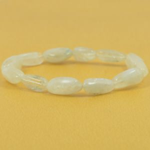 Rainbow Moonstone Tumble Bracelet