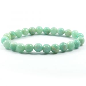 Amazonite 10 mm Round Bead Bracelet