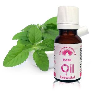 Reiki Crystal Products Basil Essential Oil - 15 ml, Aroma Therapy