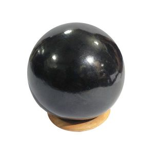 Black Agate Ball / Sphere
