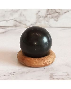 Black Agate Ball / Sphere 20 mm Approx