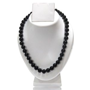 Black onyx 12 mm Mala & Necklace