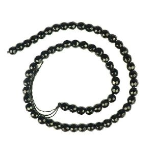 Black Tourmaline Loose Beads Crystal Beads DC 6 mm Beads Round Stone Beads