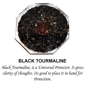 Black Tourmaline Orgonite & Orgone  Coaster