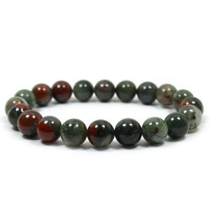 Bloodstone  10 mm Bracelet