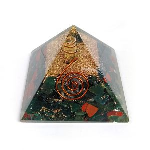 Bloodstone Orgone & Orgonite Pyramid