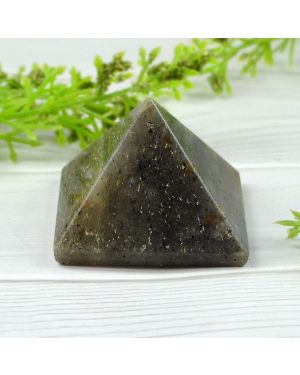 Blue Aventurine Pyramid for Reiki Healing and Vastu Correction