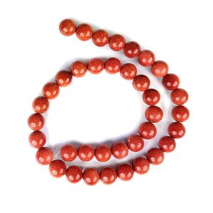 Goldstone Brown  Loose Beads Crystal Beads 10 mm Beads Stone Beads
