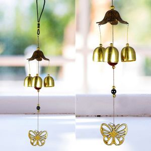 Fengshui Butterfly Wind Chimes Home Positive Energy
