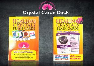 Crystal Healing Cards Deck Pack of 48 Cards