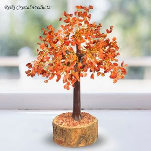 Carnelian 500 Beads Crystal Stone Tree