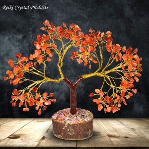 Carnelian Natural Chips 300 Beads Tree