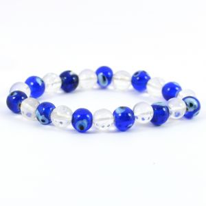 CQ+ Evil Eye 8 mm Bracelet