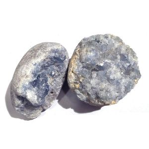 Natural Celestite Crystal Stone Raw Rough