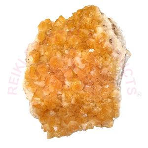 Natural Citrine Cluster/Geode (Weight 3 Kg Approx)