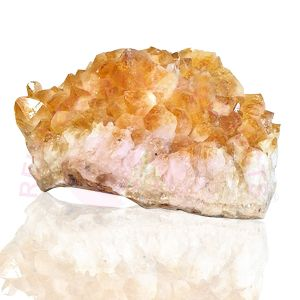 Natural Citrine Cluster/Geode (Weight 5 Kg Approx)