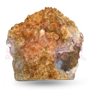 Natural Citrine Cluster Stone (Weight : 2.739 Kg Approx)