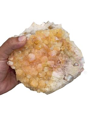Natural Citrine Cluster Stone (Weight : 2.175 Kg Approx)